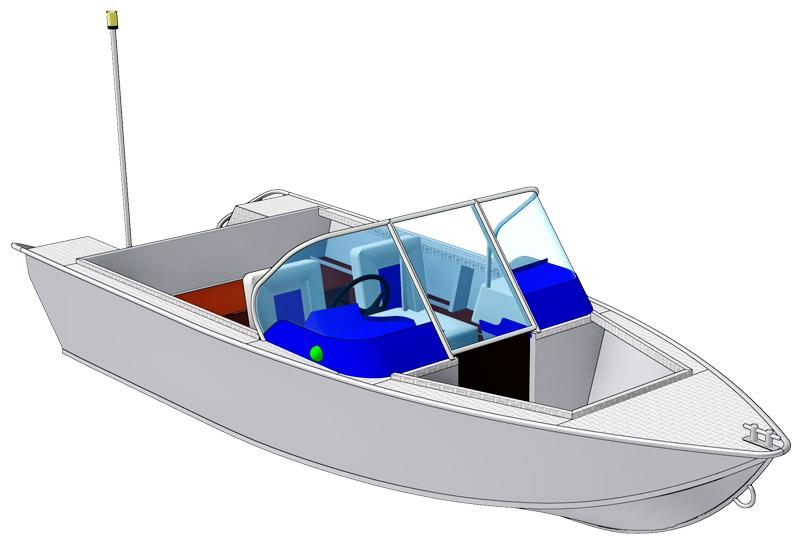 салют 360м егерь моторная лодка
