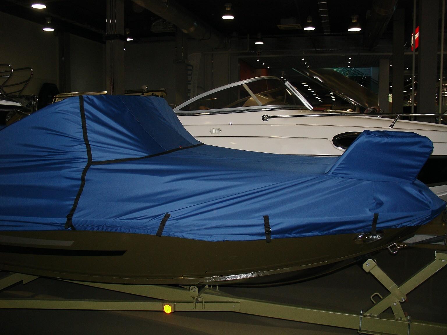 укрывной тент на лодку пвх