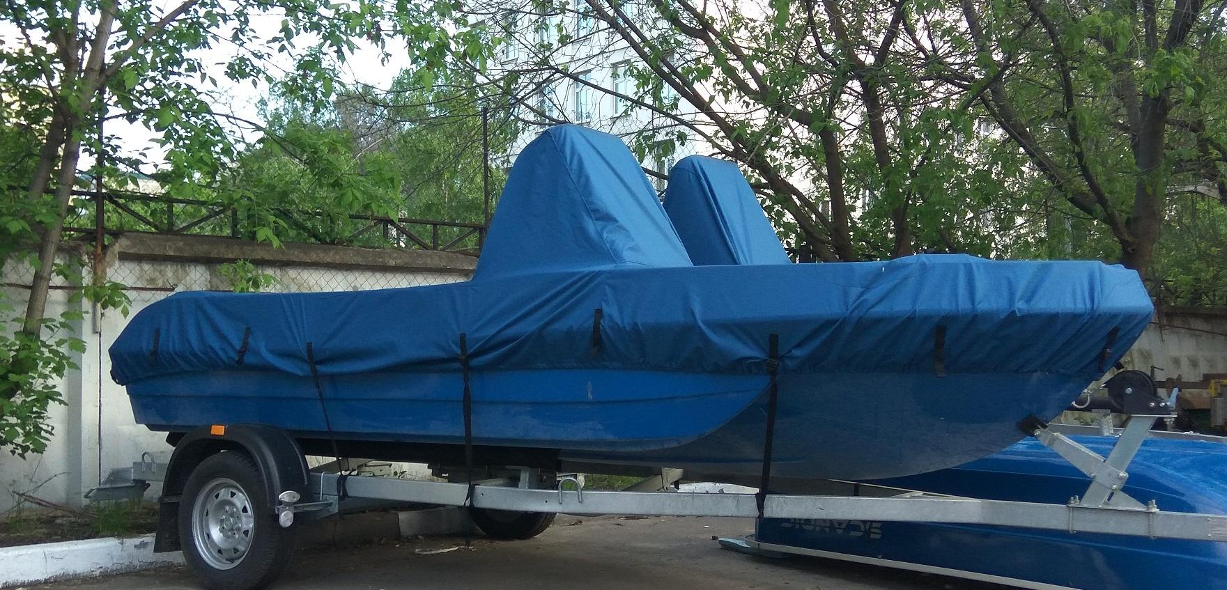 Тент на лодку 430
